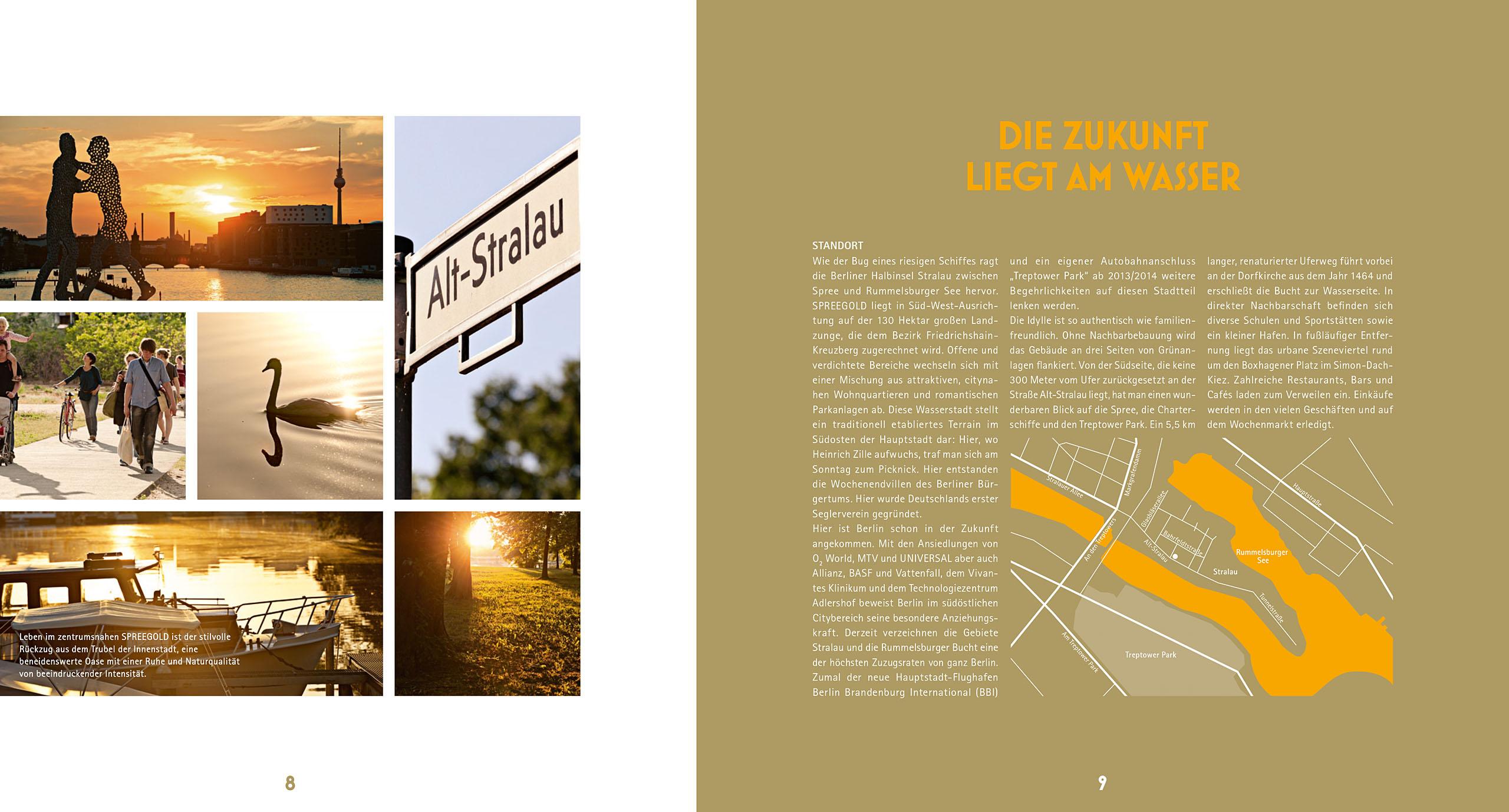 Spreegold Broschüre / TPA