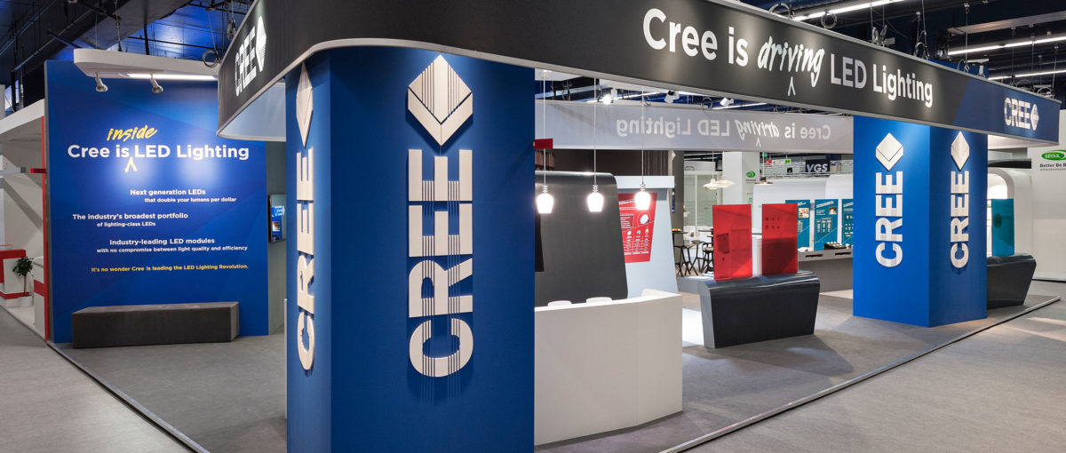 CREE, Light + Building / Frankfurt am Main, FTWild