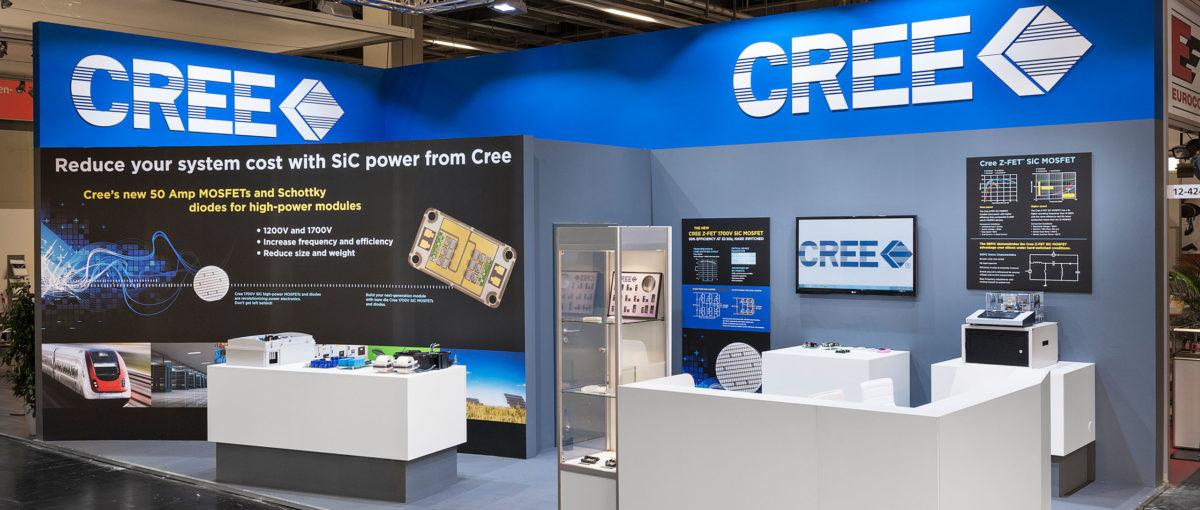 Cree, PCIM Europe / Nürnberg, FTWild