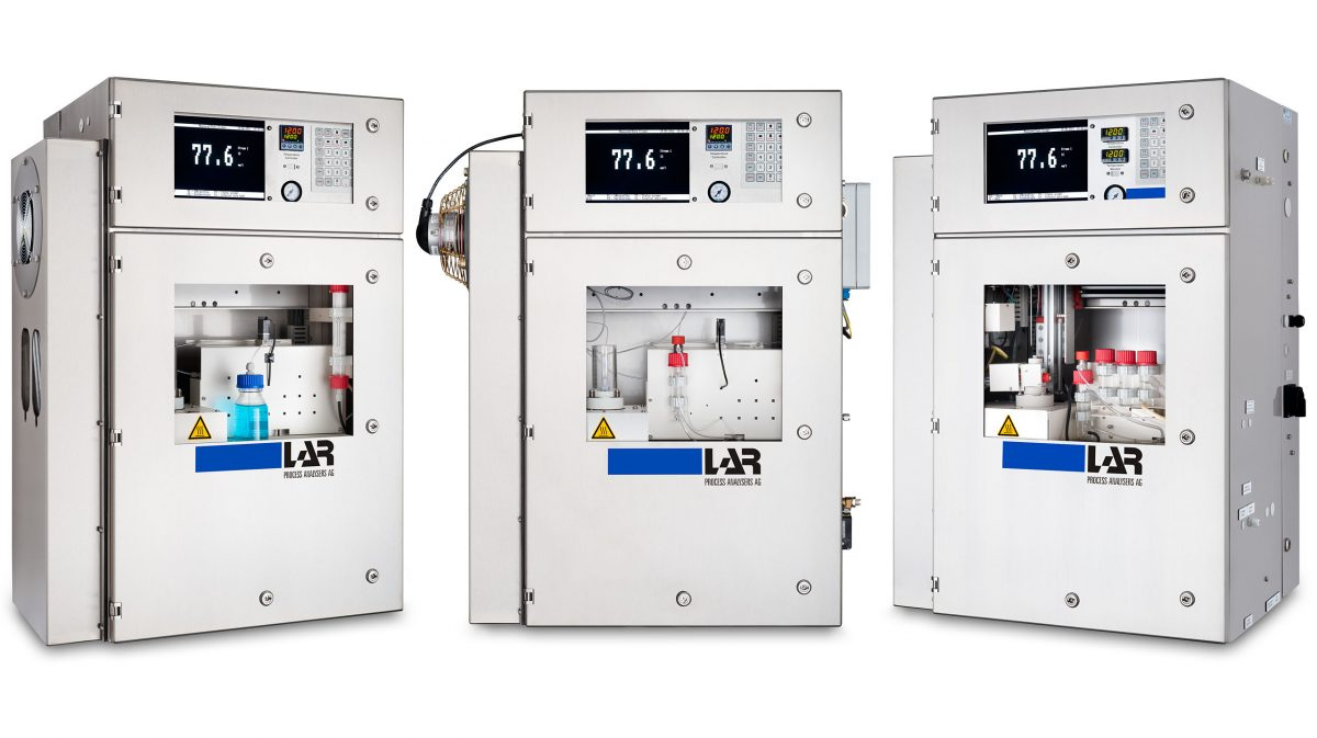Produktfotos LAR Process Analysers AG