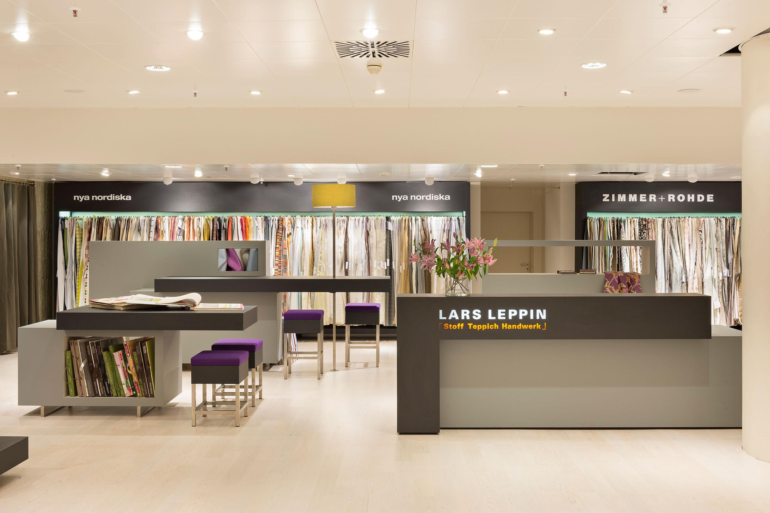 Lars Leppin, Nya Nordiska / KaDeWe Berlin
