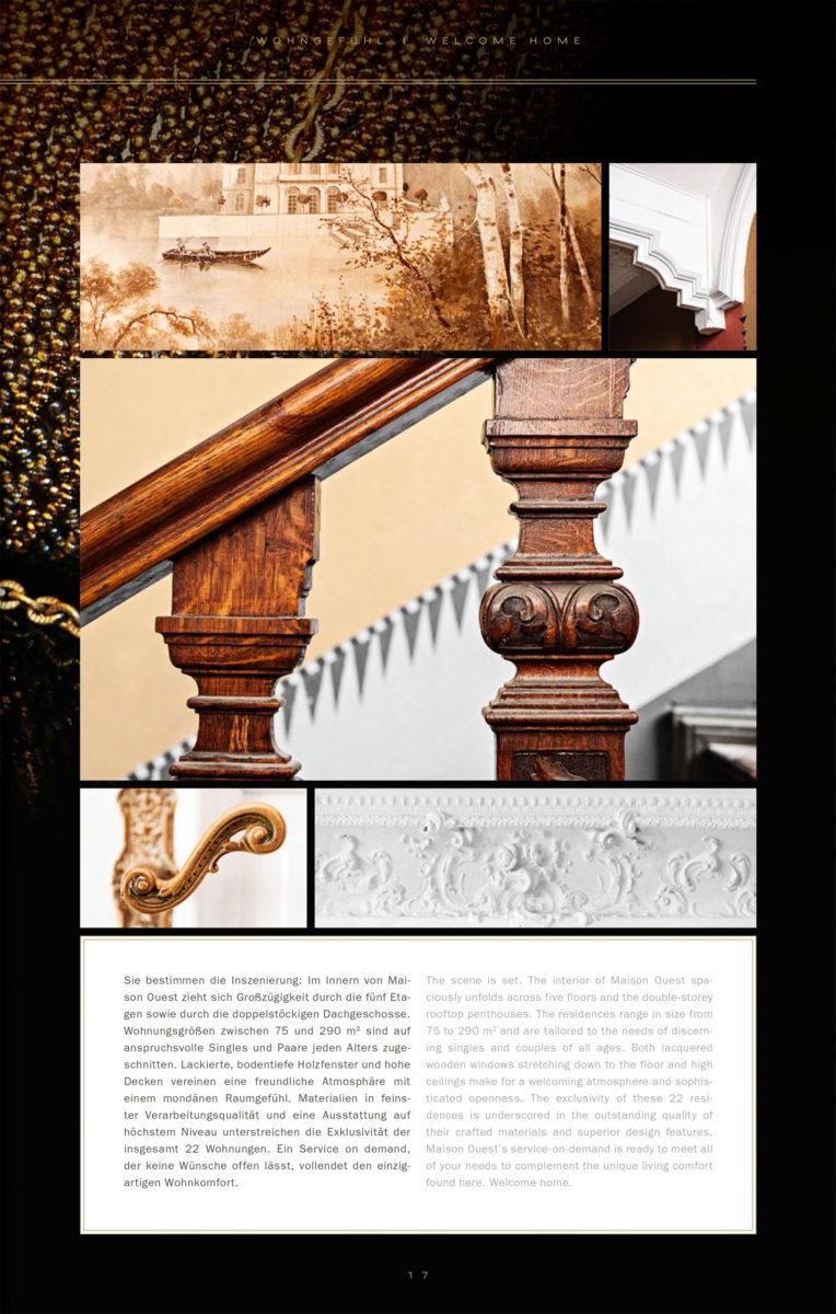 Broschüre Maison Ouest, Berlin / TPA