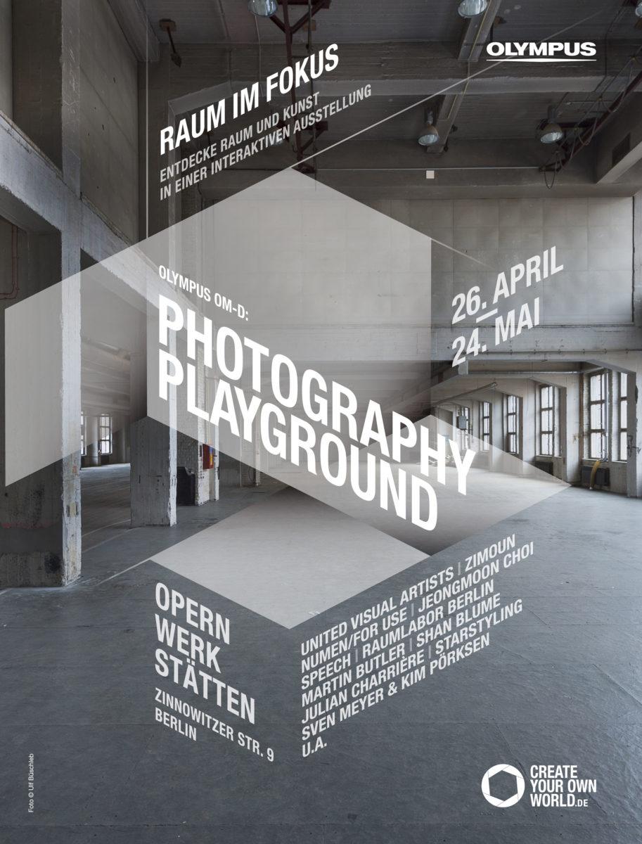 Opernwerkstätten Berlin, Fotografie für Vermarktung als Event-Location