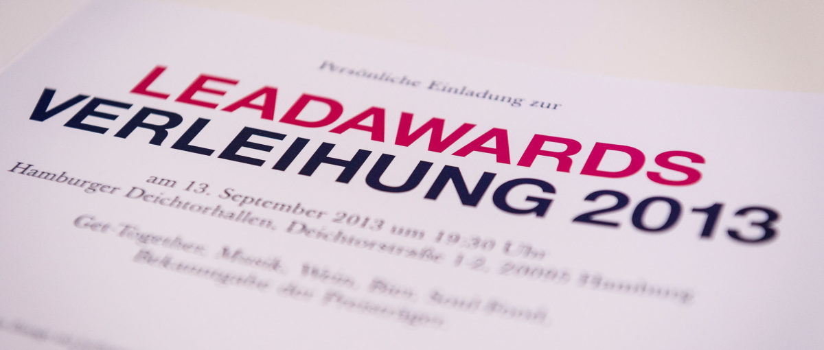 LEAD Awards, Hamburg