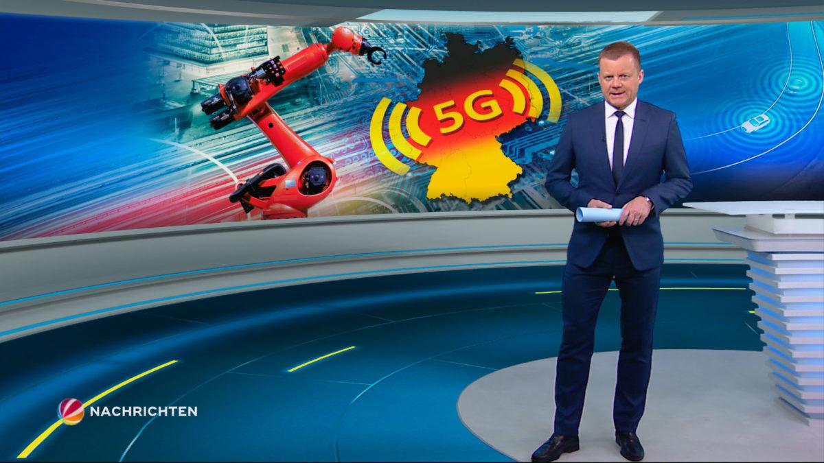 TV-News Graphic Designs (SAT.1, ProSieben, Kabel Eins, WELT Fernsehen