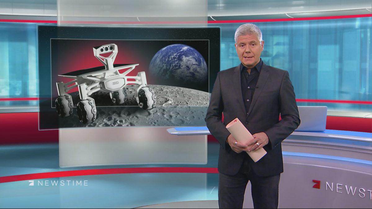 TV-News graphic designs (SAT.1, ProSieben, Kabel Eins, WeLT TV)