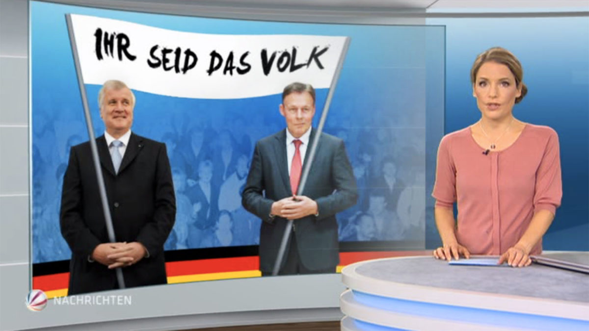 TV Grafiken, News SAT.1, ProSieben, Kabel Eins