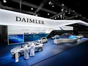 DAIMLER, World Future Energy Summit / Abu Dhabi