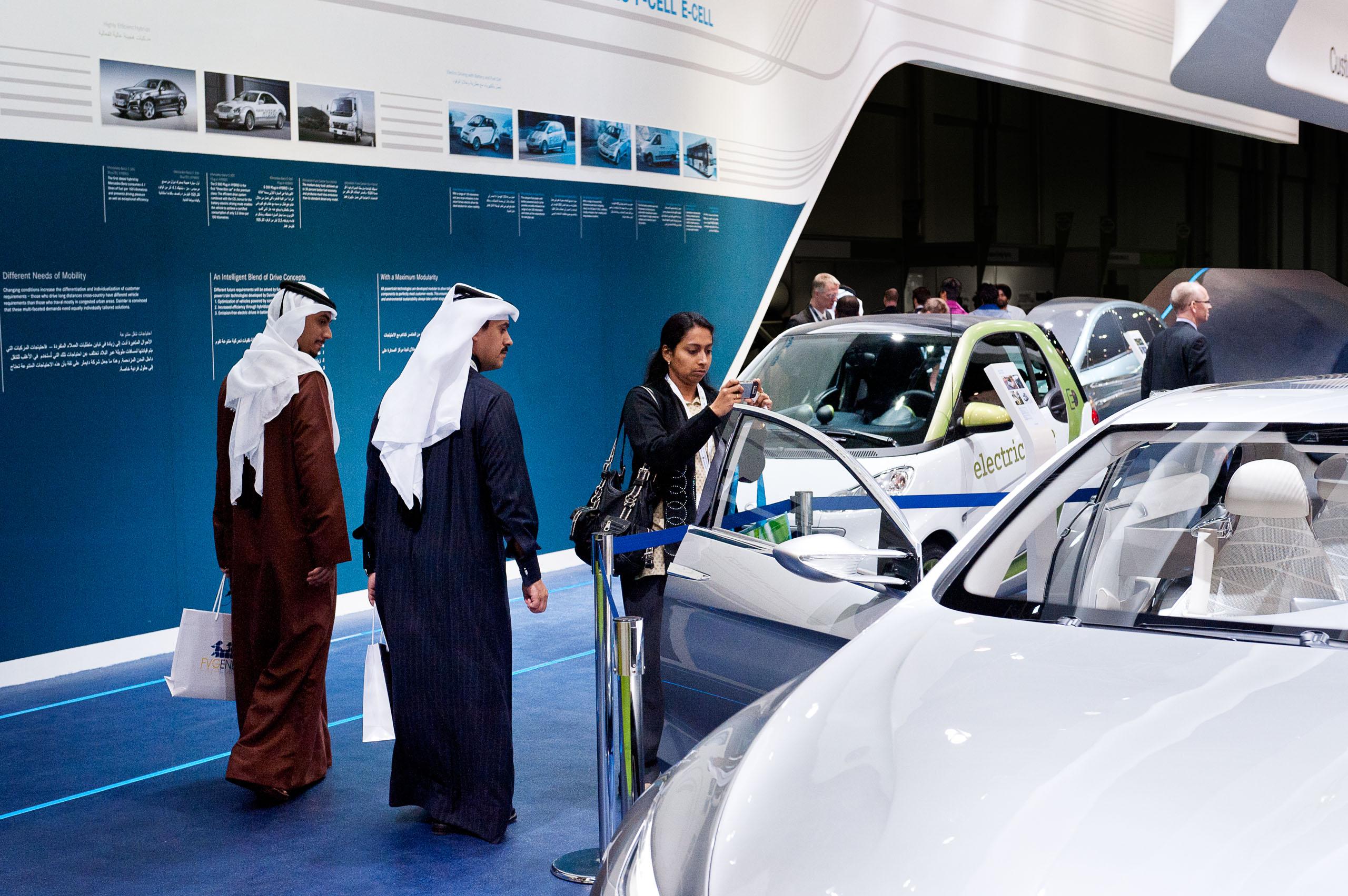 DAIMLER / WORLD FUTURE ENERGY SUMMIT in Abu Dhabi