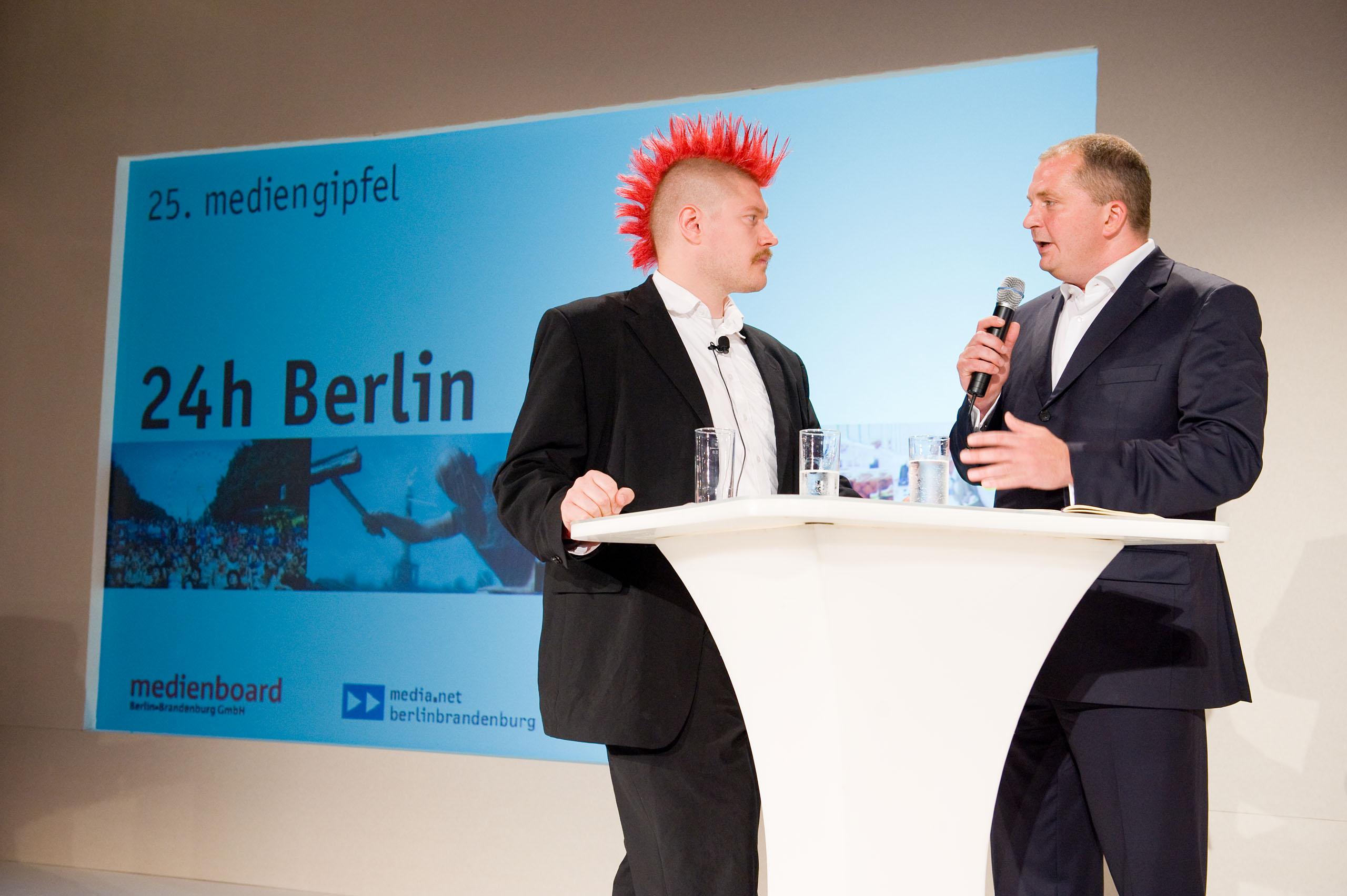 Mediengipfel Berlin-Brandenburg