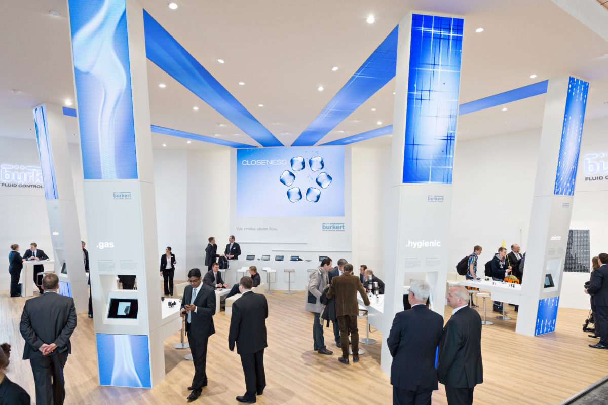 Bürkert GmbH & Co. KG, Hannover Messe International / Triad Berlin