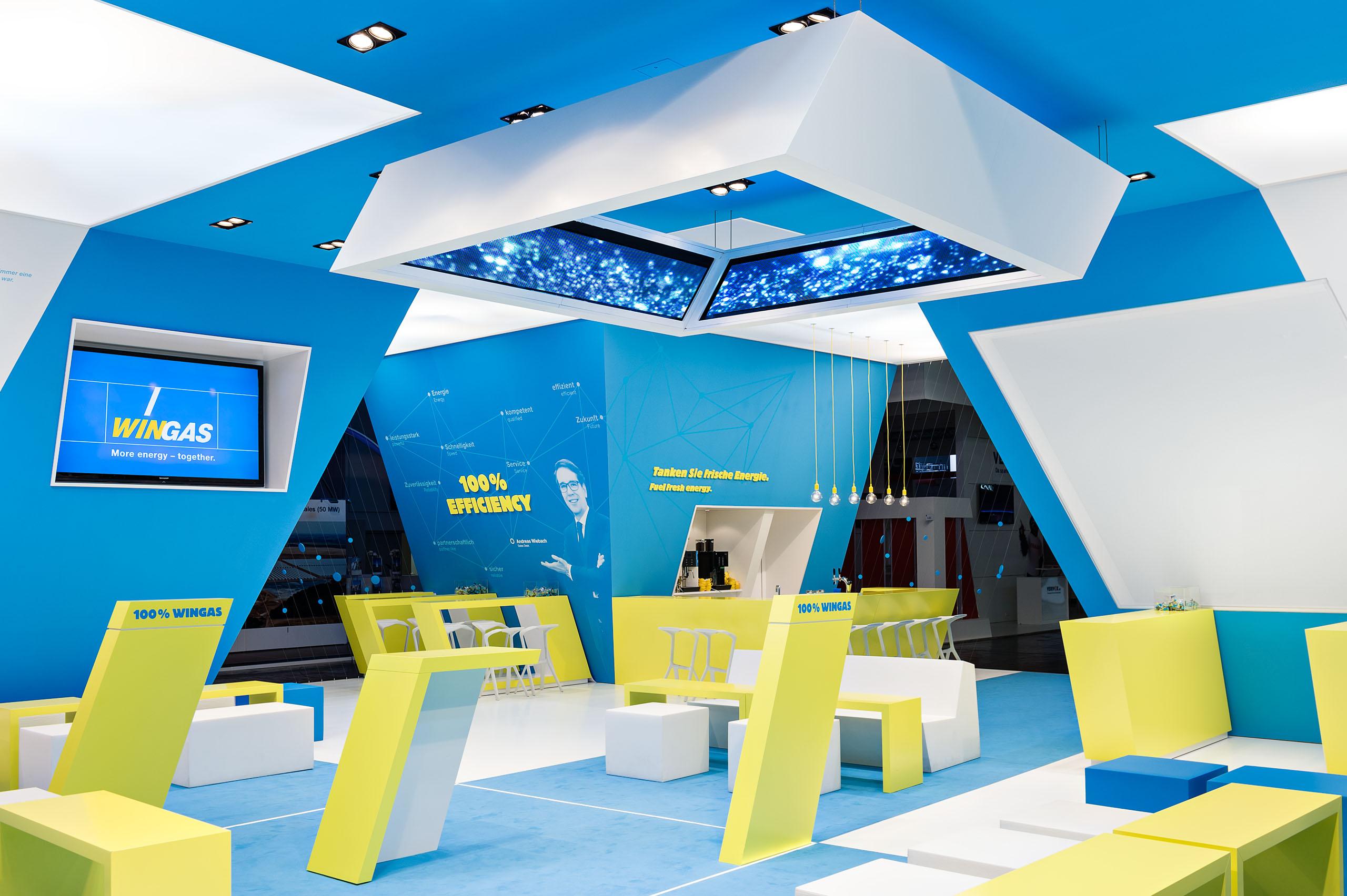 WINGAS, E-World Essen / MetaDesign AG