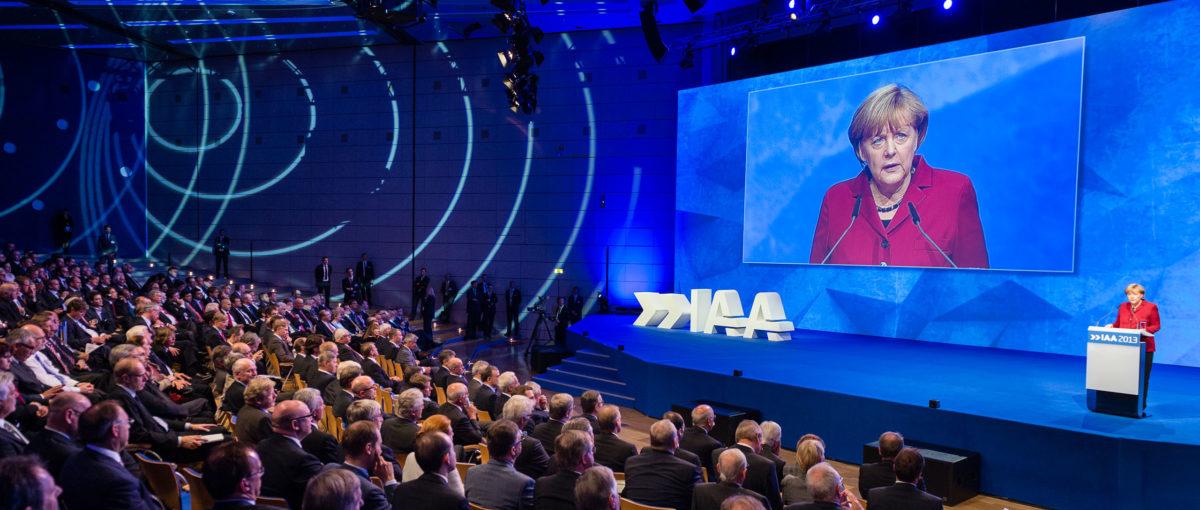 IAA Eröffnung Frankfurt, VDA / FTWild
