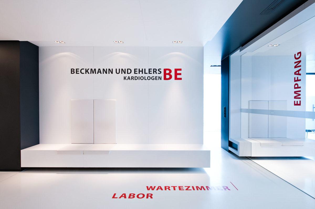 Beckmann und Ehlers Kardiologische Praxis, Axthelm Architekten