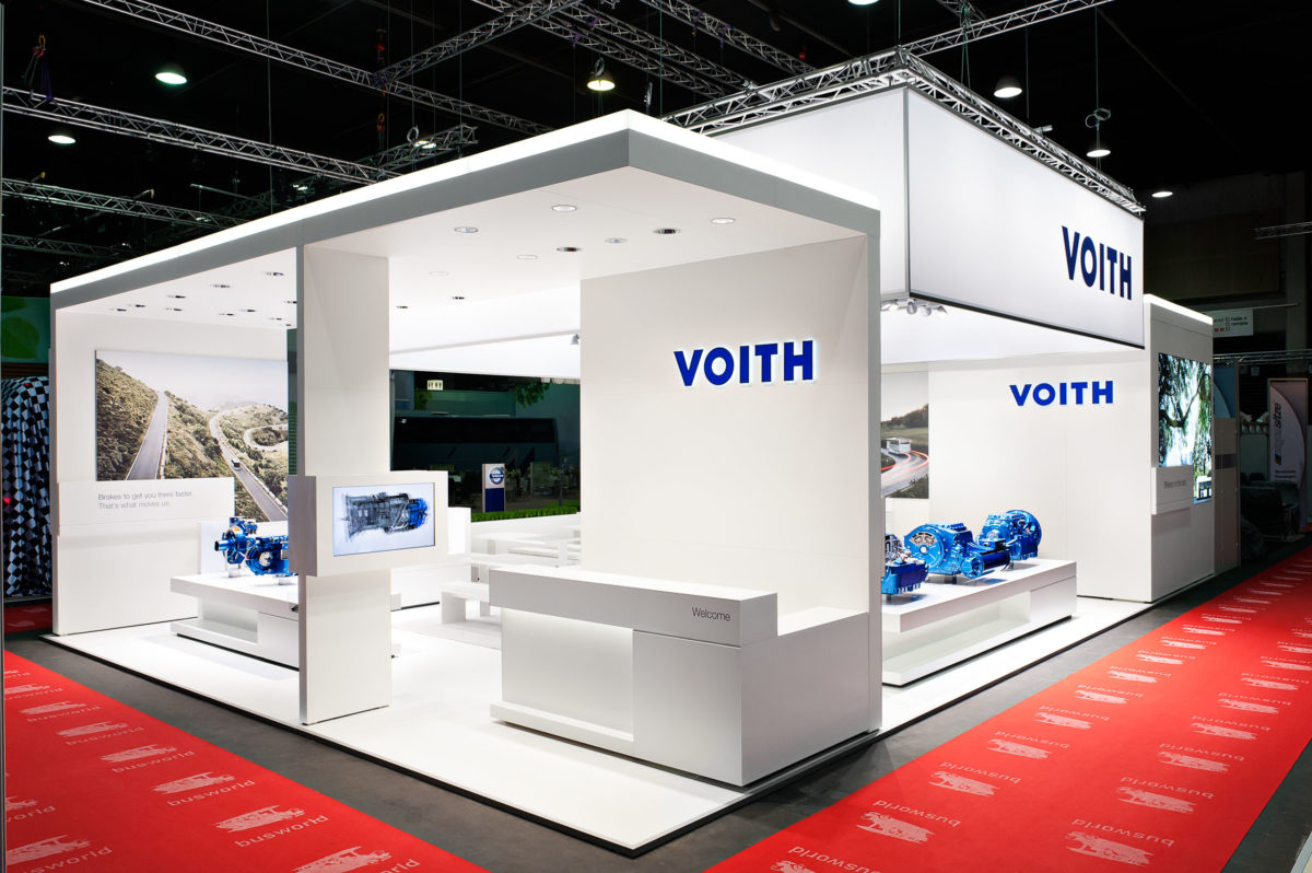 VOITH GMBH / BUSWORLD Kortrijk Belgium / Design Guide / TRIAD