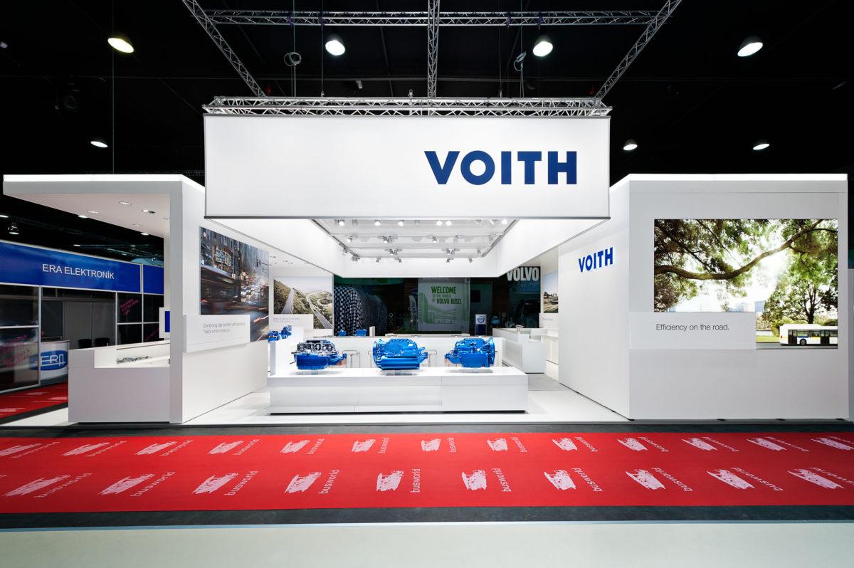 VOITH GMBH / BUSWORLD Kortrijk Belgium / Design Guide / TRIAD