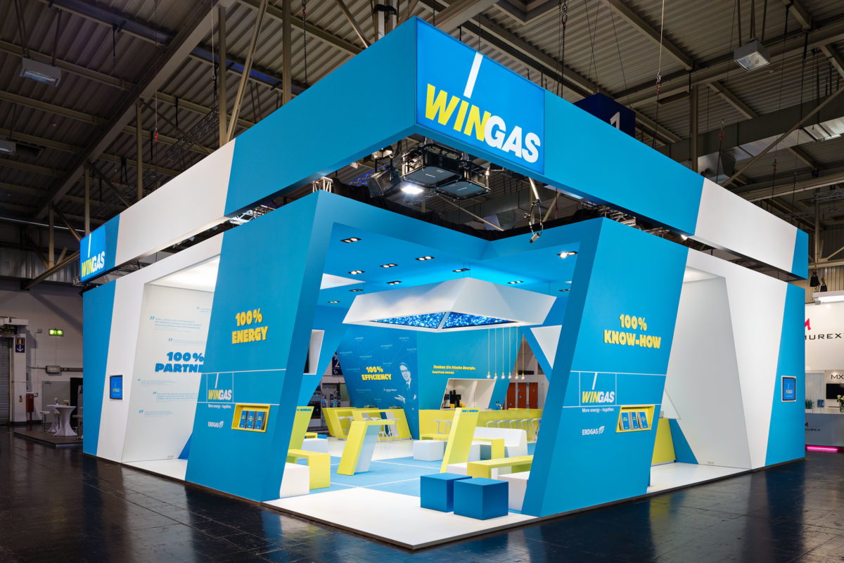 WINGAS, E-World Essen / MetaDesign AG