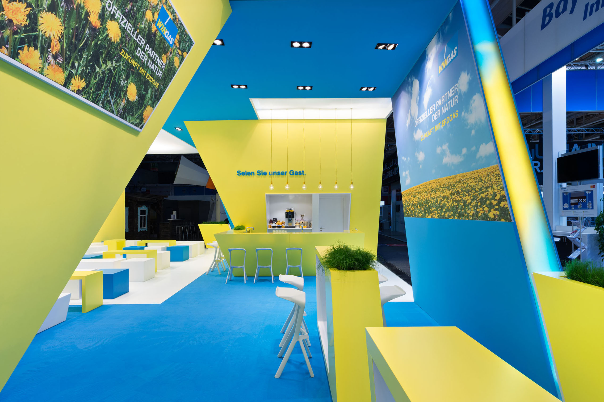 WINGAS, Hannover Messe International / MetaDesign AG