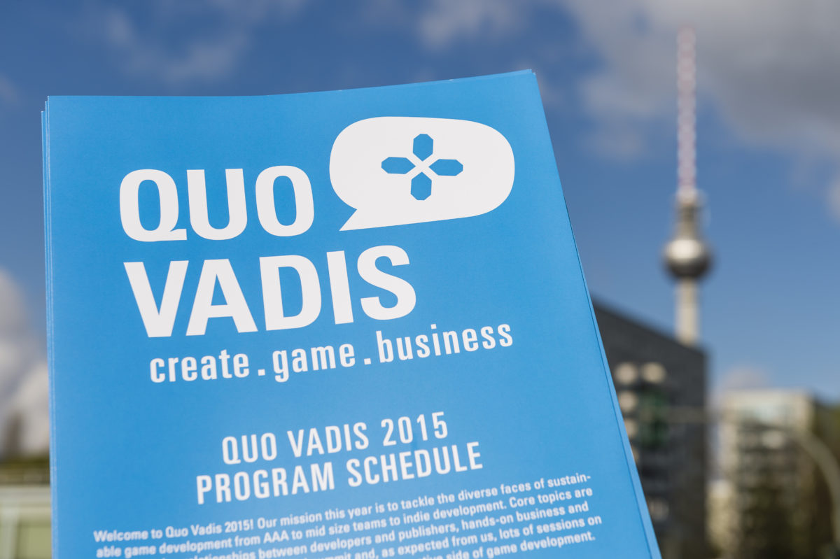 International Games Week Berlin / Quo Vadis, Game Developers Conference Berlin