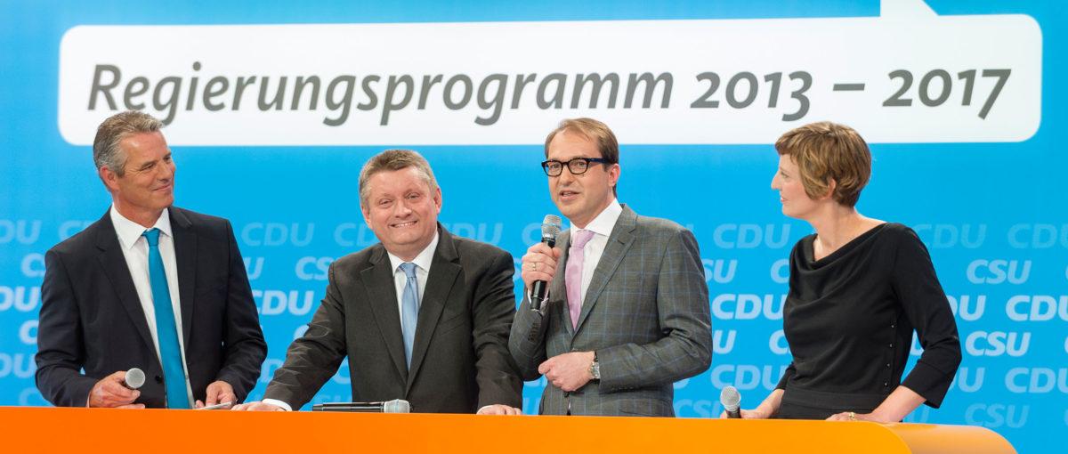 CDU/CSU Kongress, Berlin / Projektdokumentation FTWild