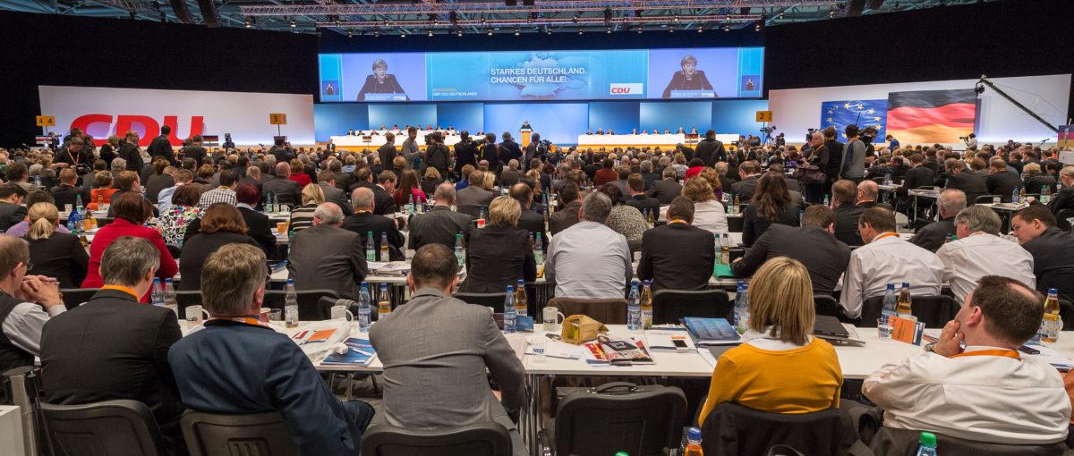 CDU Parteitag, Hannover / Projektdokumentation FTWild