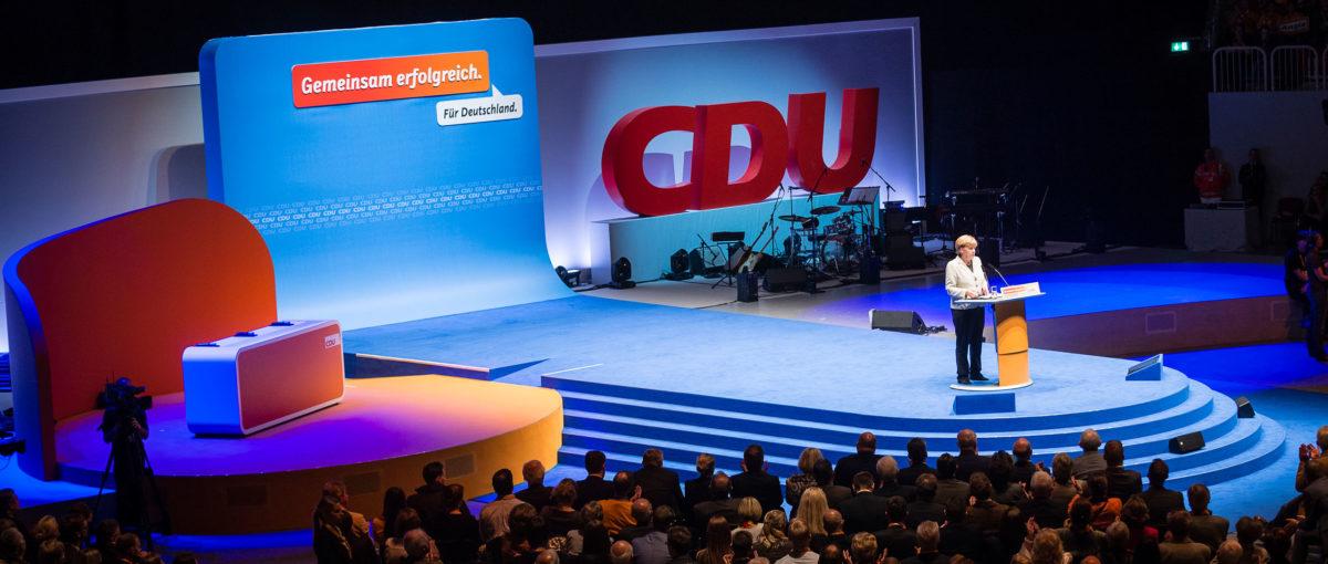 Wahlkampfauftakt CDU, Düsseldorf / Projektdokumentation FTWild