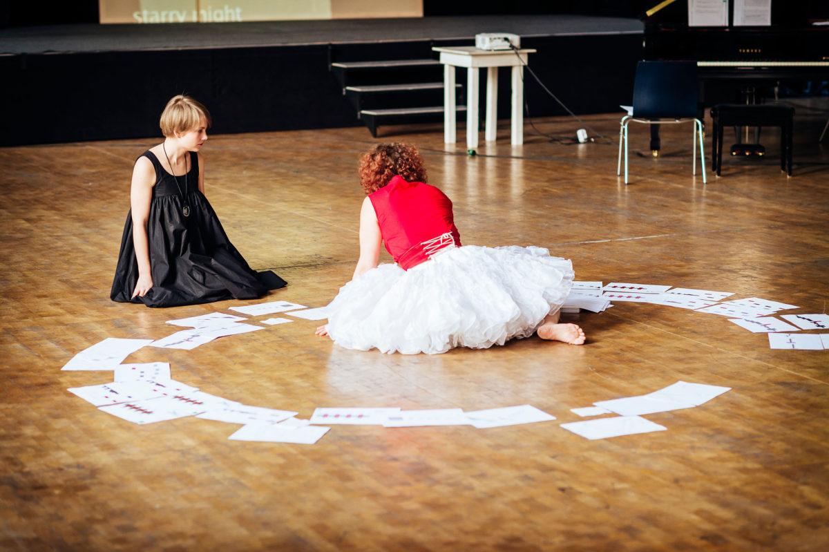 AIKAINEN, opera by Miika Hyytiäinen, Programmheft