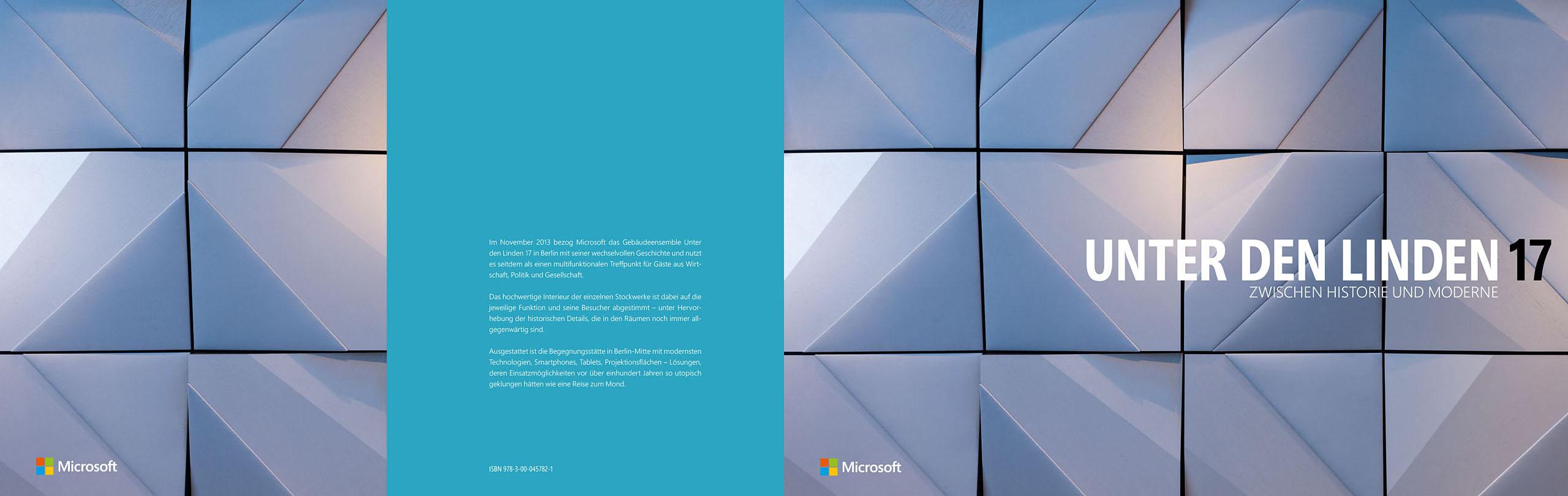 UNTER DEN LINDEN 17, Bildband, Microsoft Deutschland, Ansichten aus dem 156-seitigen Buch