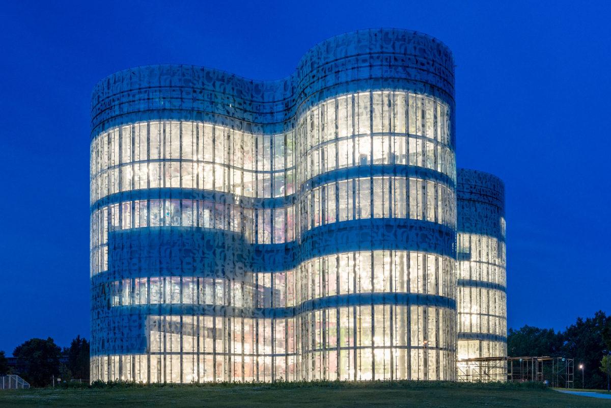 IKMZ, Informations- Kommunikations- und Medienzentrum, BTU Cottbus
