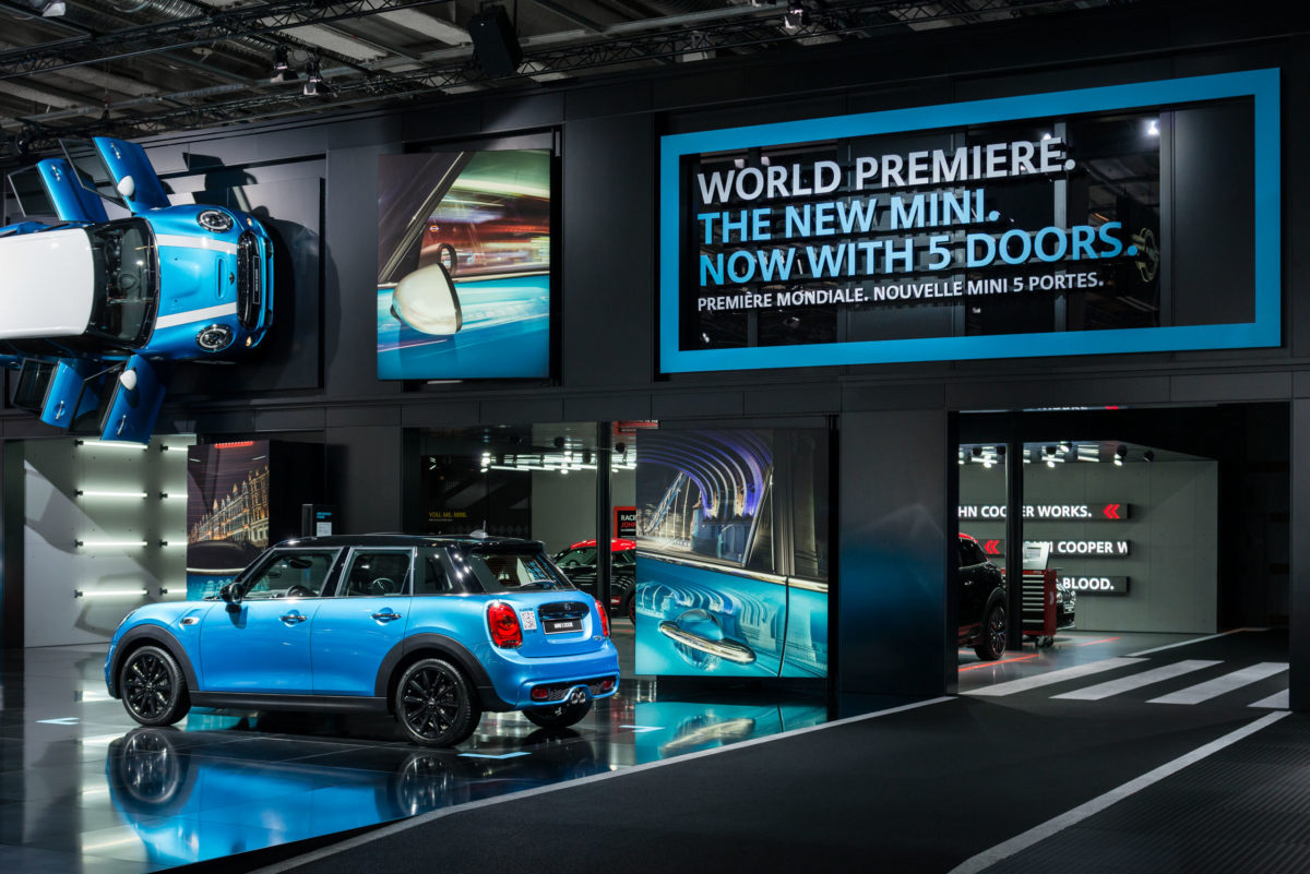 MINI / BMW Group, Mondial de l'Automobile, Paris