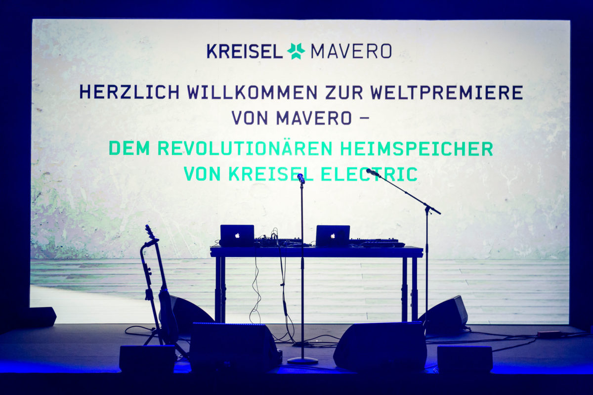 Kreisel-Produkt-Launch, Berlin