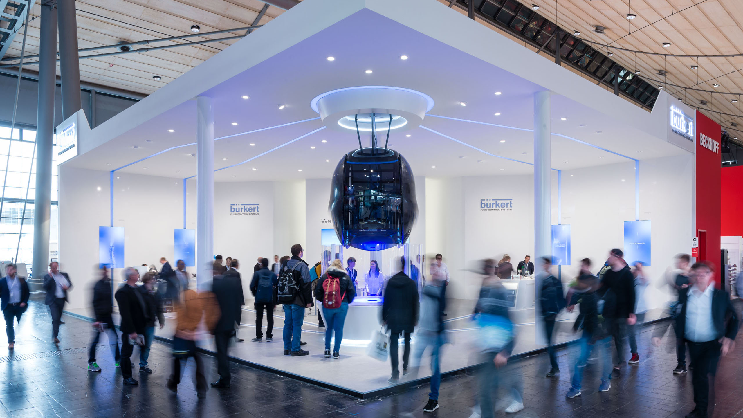 BÜRKERT, HANNOVER MESSE INTERNATIONAL