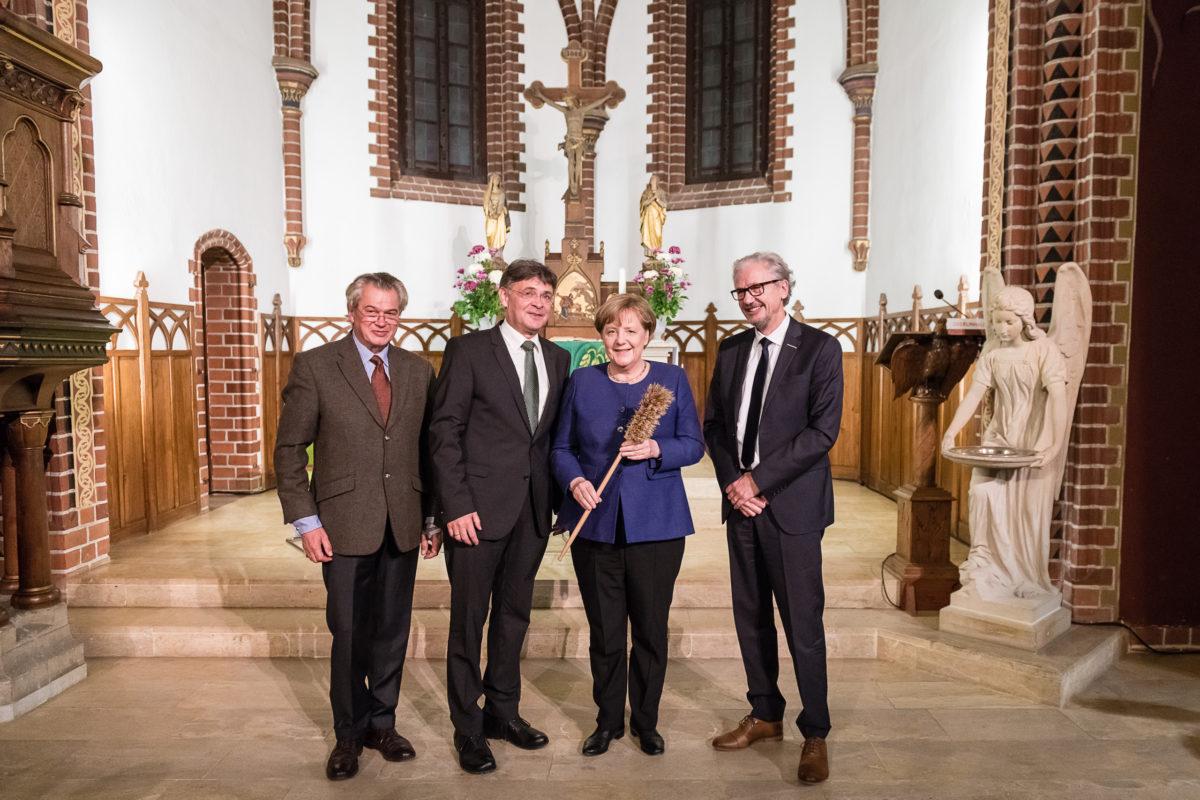 OBERLINHAUS Potsdam, Besuch Angela Merkel