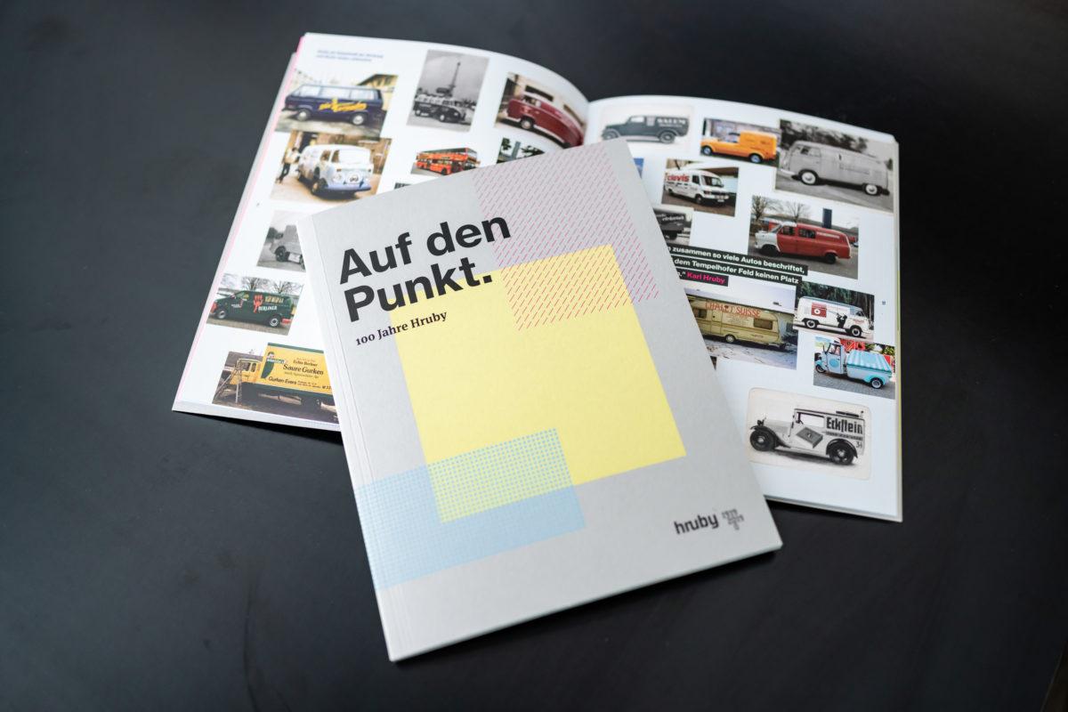 100 Jahre Hruby / Buch