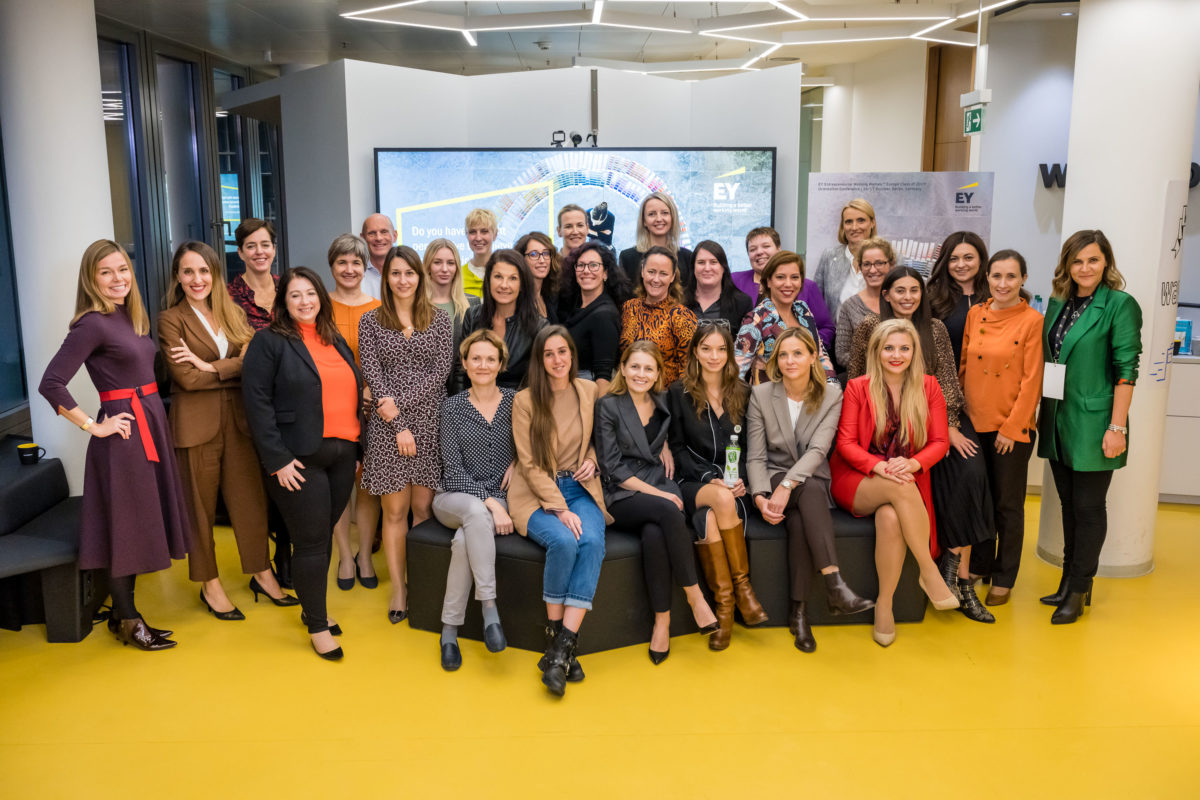 Entrepreneurial Winning Women Conference, EY