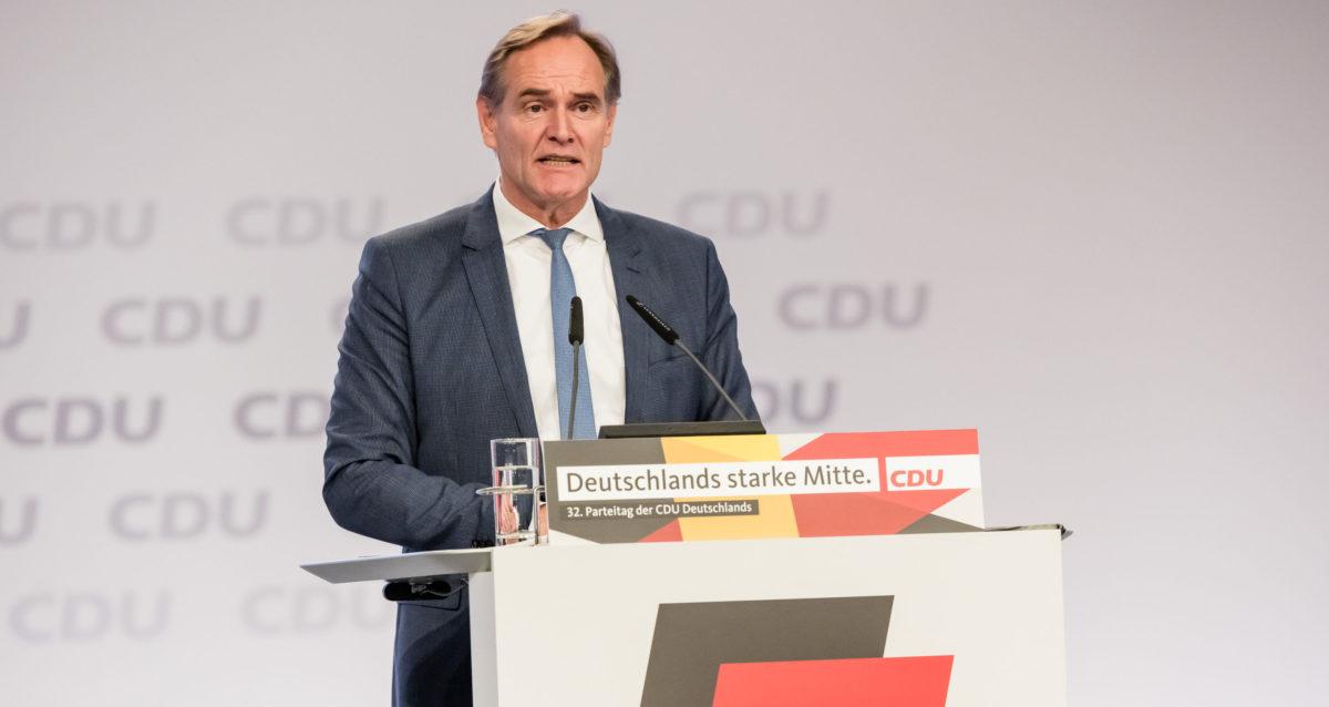 32. Bundesparteitag CDU, Leipzig