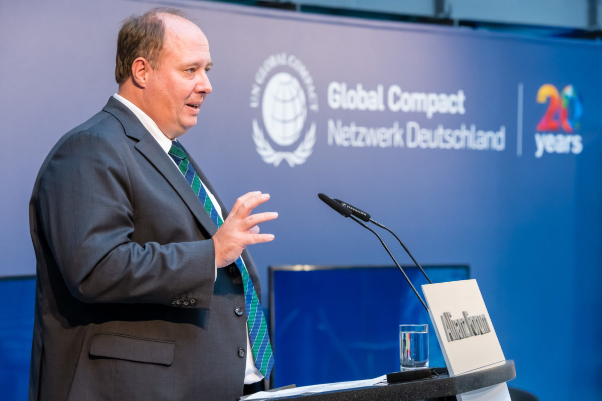 Jubiläumskonferenz, Global Compact Netzwerk Deutschland